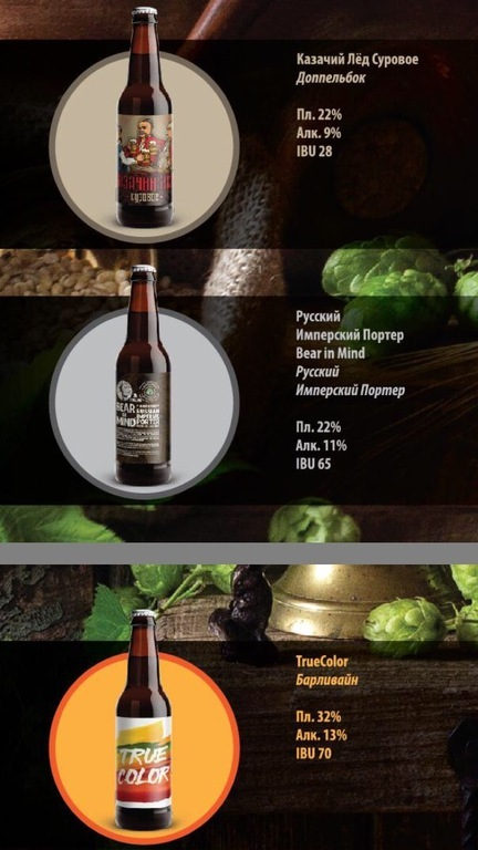 Фото крафтовое пиво от пивоварни LaBEERint - True Color BarleyWine, Bear in Mind BA Chivas Regal